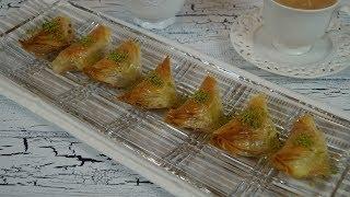 El Acmasi Kaymakli Söbiyet Tarifi (Türkische Süßspeise mit Cremefüllung)