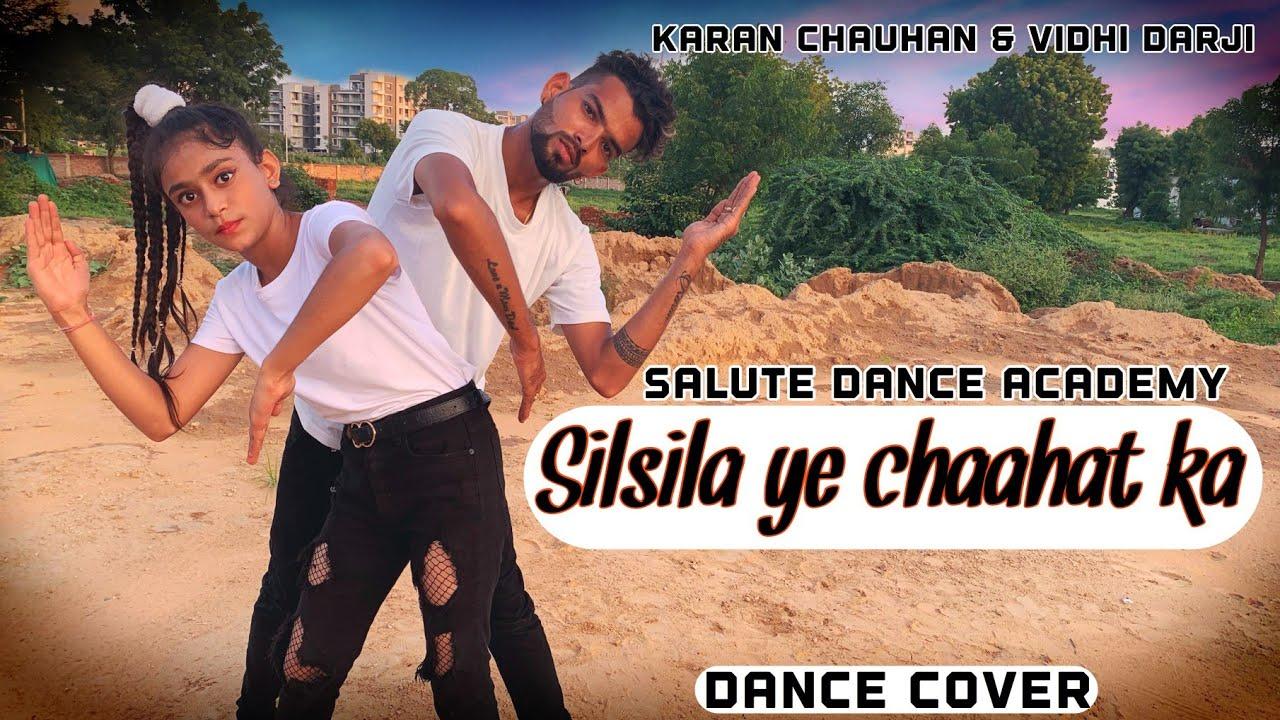 Silsila Ye Chaahat Ka | Dubstep | Salute Dance Academy | Dance Cover | NDSFilm | Viral Video |