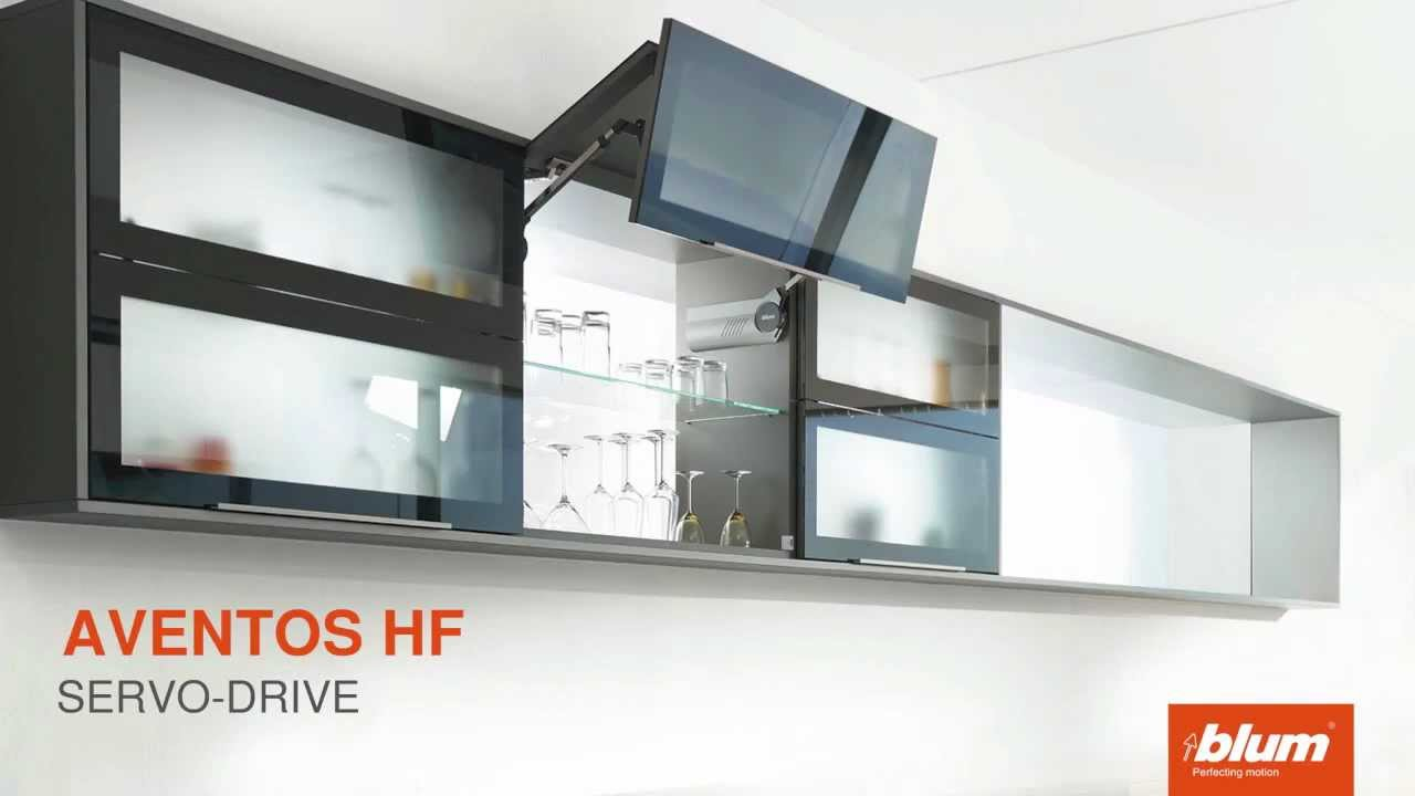 aventos hf servo drive youtube. Black Bedroom Furniture Sets. Home Design Ideas