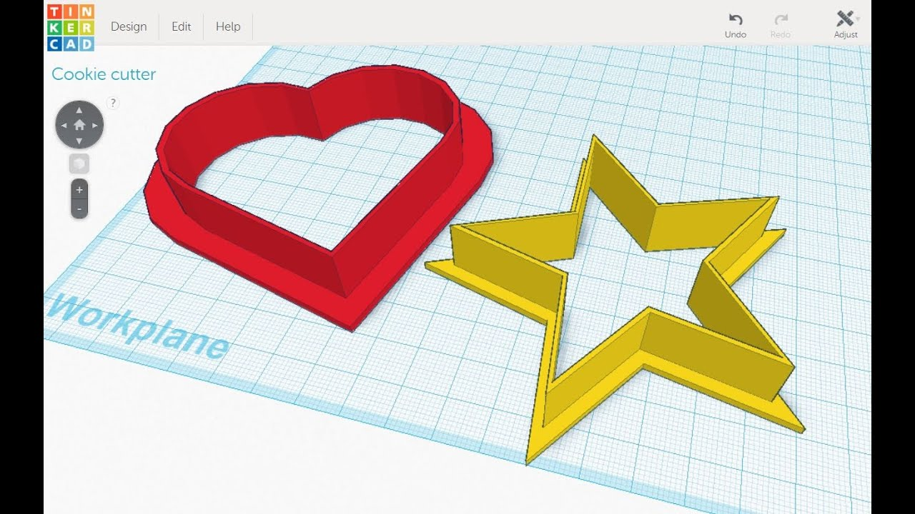 Tinkercad & 3D Printer Slicer Settings for Cookie Cutters - YouTube