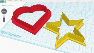Tinkercad & 3D Printer Slicer Settings for Cookie Cutters
