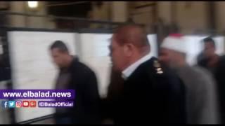 وصول علي ونيس إلى محكمة النقض لحضور جلسة 'الفعل الفاضح'.. فيديو