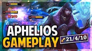 ¡GAMEPLAY APHELIOS! CARREO CON 70K DE DAÑO! | League of Legends