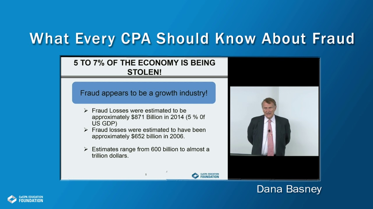 What Every CPA Should Know About Fraud Webcast | 4182877F