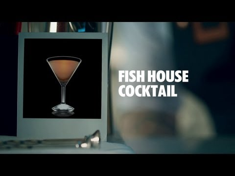 FISH HOUSE COCKTAIL DRINK RECIPE - HOW TO MIX