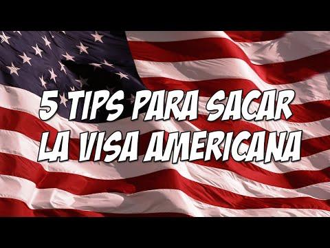 5 tips para obtener la  VISA AMERICANA sin problemas