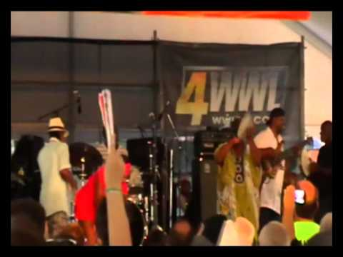 Kermit Ruffins performs Skokiaan at SatchmoFest 2011