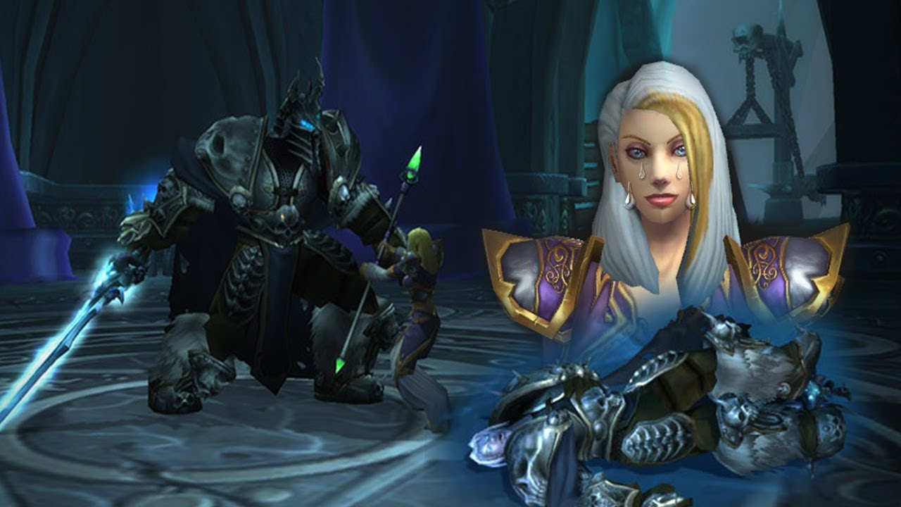 World Of Warcraft Bfa Wallpaper: The Sad Story And Downfall Of Jaina Proudmoore.....