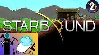 Let's Play Starbound Coop with Mousegunner #02