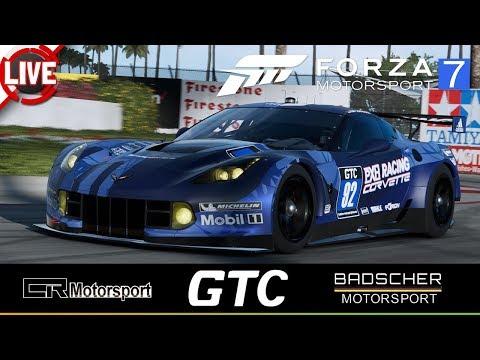 FORZA MOTORSPORT 7 - GTC - Lauf 2: Long Beach - Forza Motorsport 7 Livestream