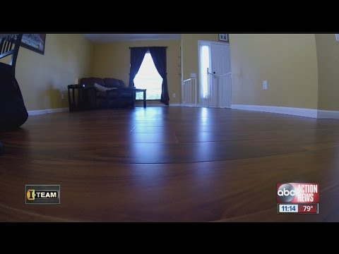 Dangerous gas leaking from flooring sold by Lumber Liquidators