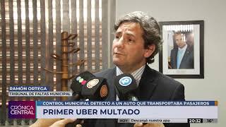 La Municipalidad secuestró el primer vehículo que trabaja con Uber en Córdoba