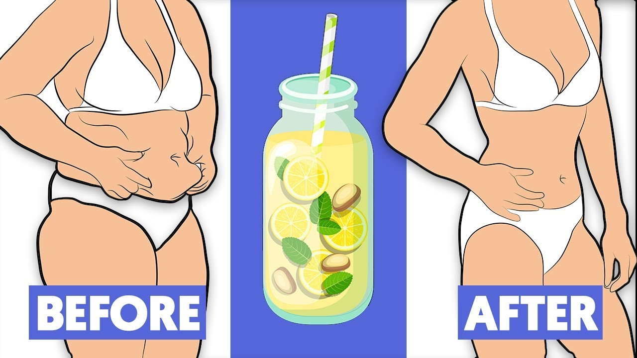 Just boil these 2 ingredients and drink before bed to lose weight!