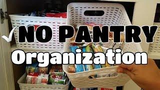 No Pantry Organization| June 2018