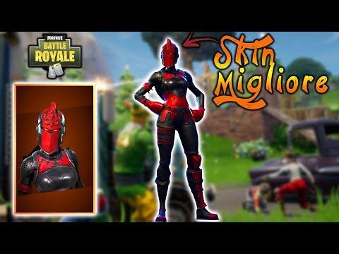 Ho Shoppato Il Cavaliere Rosso Fortnite Battle Royale Youtube