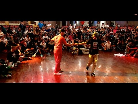 Sany-G Vs Emjay | Popping Final - Shadow In The Circle 2015