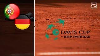 Fünf-Satz-Krimi mit Struff und Pütz | Portugal - Deutschland | Highlights | Tennis Davis Cup | DAZN