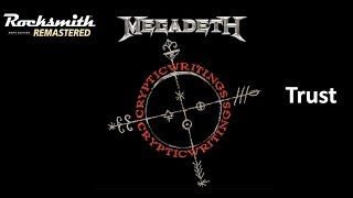Trust - Megadeth - Rocksmith 2014 Remastered - (Rhythm)