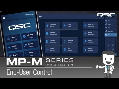MP-M Series 6 - End-User Control