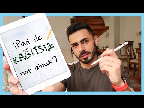 IPad Ile Nasıl Not Alıyorum? | Paperless Student With Apple Pencil