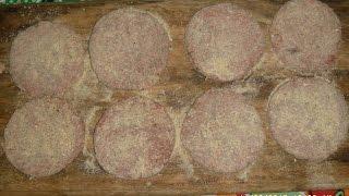Preracion De Carne Para Hamburguesas