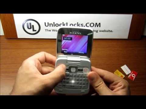 How To Unlock Alcatel One Touch OT-808, OT-808A, OT-808D, OT-810, OT-810A and OT810D.