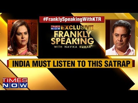 Frankly Speaking with K.T. Rama Rao | Full Interview