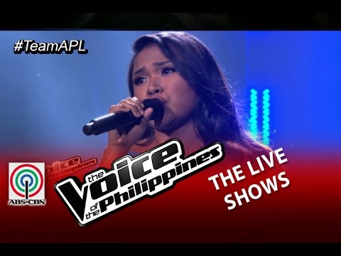 "The Live Shows ""Let it Go"" by Alisah Bonaobra (Season 2)"