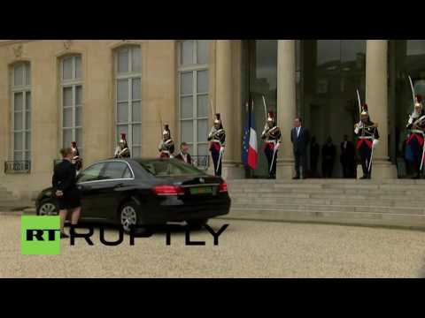 France: European leaders arrive for Western Balkan Summit