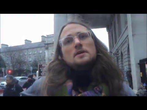 Vegan Education Outreach in Dublin, Ireland (16-1-16)