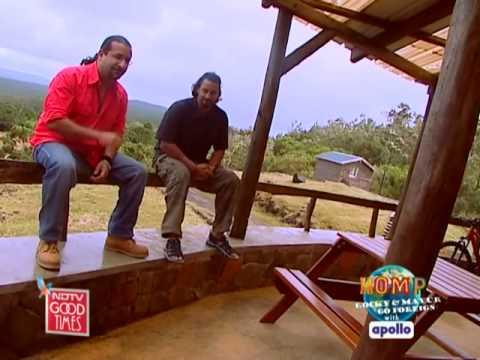 Rocky & Mayur enjoy Mauritian cuisine