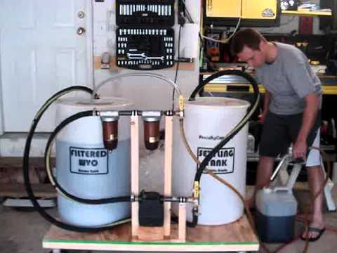 Part 3 Of 3 Bottling The Filtered Wvo Youtube