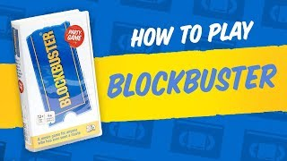 How to Play the Blockbuster Board Game
