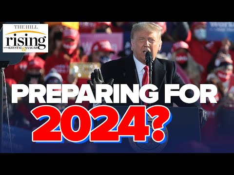 Krystal and Saagar: Trump May IMMEDIATELY Declare For 2024 When Election Called For Biden