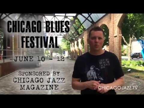 Episode 014 -  Chicago Jazz TV -  Otis Rush Tribute - Chicago Blues Festival 2016
