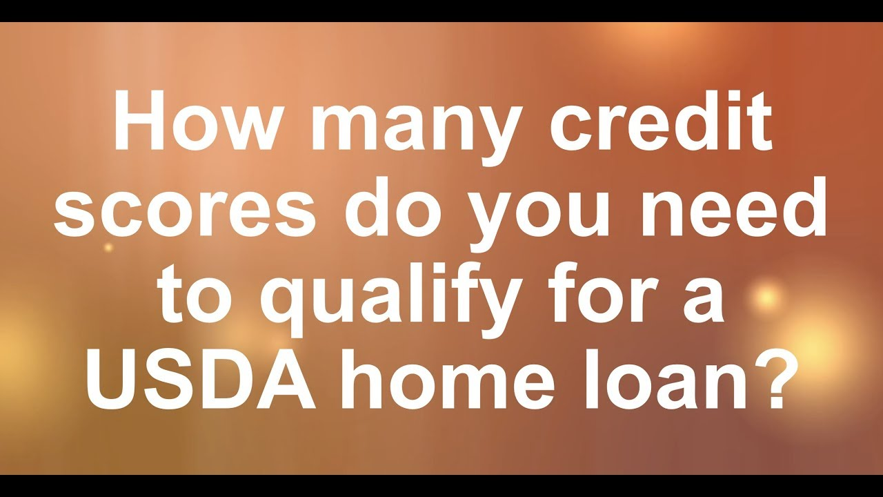 What Credit Scores Qualify For A Usda Home Loan Usda Loan Pro