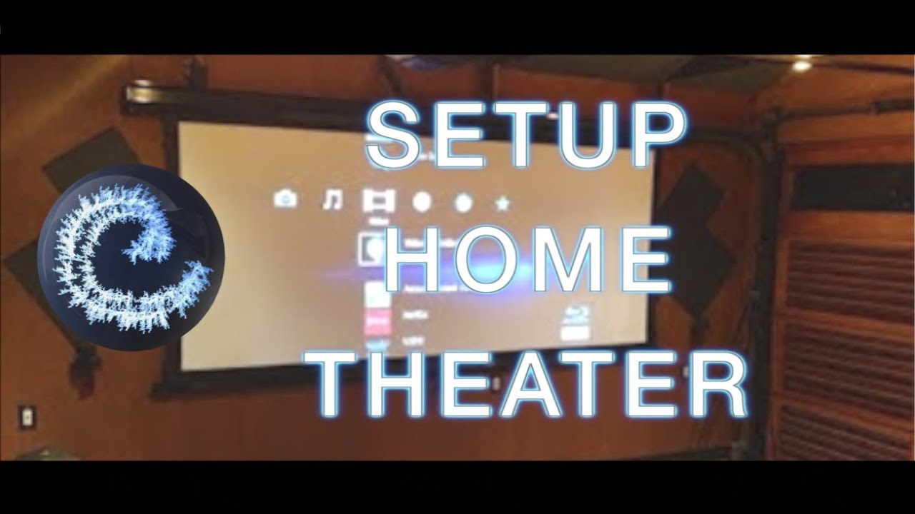Home theater setup youtube for Small room 7 1 setup