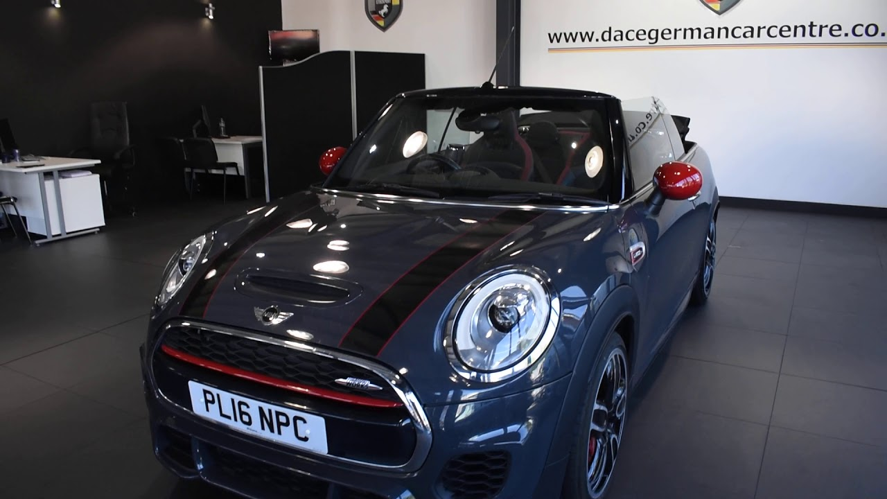 Used Mini Cooper Convertible >> Used Mini Convertible 2 0 John Cooper Works 2dr 228 Bhp