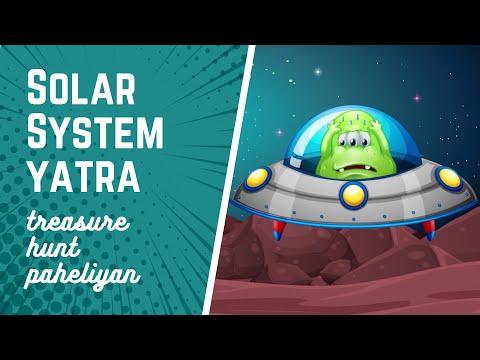 🕵️ Solar System yatra ki Majedar Paheli in Hindi | Trasure Hunt Paheliyan #5 | Dabung Girl