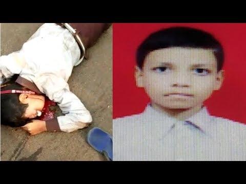 #Hk24news #Bidar Accident in Bidar Wisdom school student