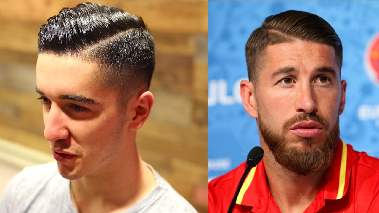 Sergio Ramos Inspired Haircut 2017 Cool And Trendy Mens