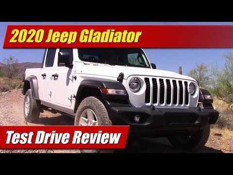 2020 Jeep Gladiator: Test Drive Review