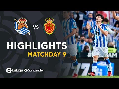 Real Sociedad Mallorca Goals And Highlights