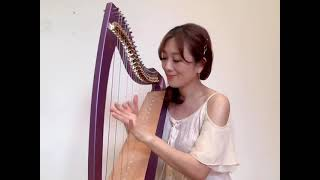 鬼滅之刃—紅蓮華 Demon Slayer 小豎琴 Lap Harp Cover