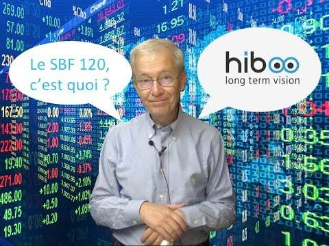 Comprendre la finance  : le SBF 120