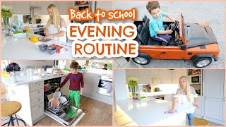 BACK TO SCHOOL EVENING ROUTINE 2020 with 3 KIDS  |  Emily Norris ad