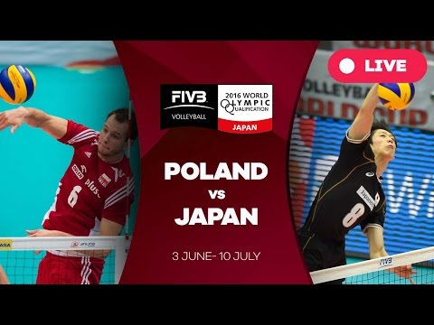 Poland v Japan - 2016 Men's World Olympic Qualification Tournament