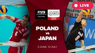 Poland v Japan - 2016 Men's World Olympic Qualification Tournament