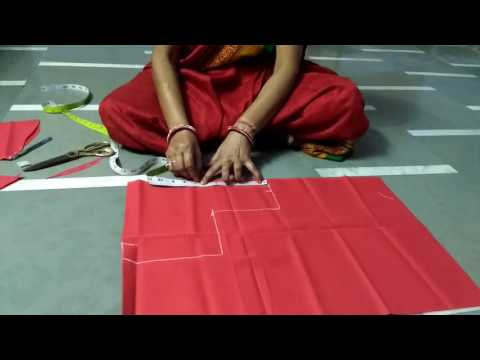 asha silai training centre( belt wala sada blause) thumbnail