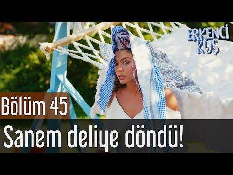 Erkenci Kuş 45. Bölüm - Sanem Deliye Döndü!